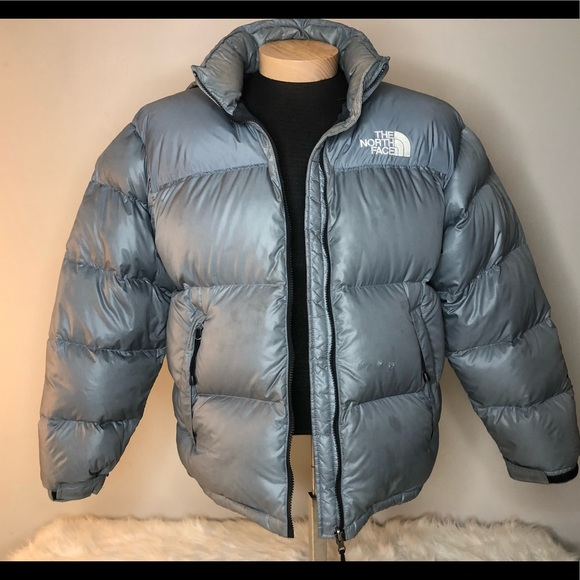 12950eaef The North Face Jackets & Coats | North Face Silver Goose Down Hood ...